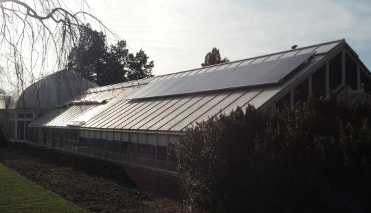 Reynolda Gardens&#8217; Green Houses Go Green
