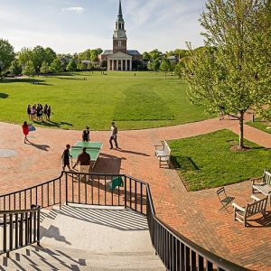 Photo by WFU photographer Ken Bennett