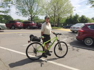Meet Wake Forest's Newest Human-Powered Parking Enforcement Officer