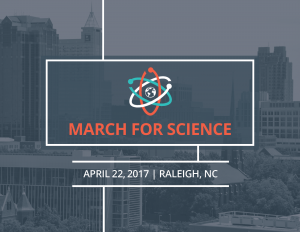 Attend the March for Science in Raleigh