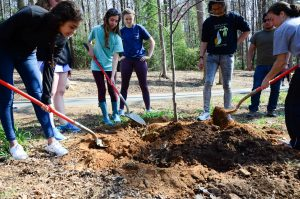 Over 115 Participants Team Up to Beautify Campus