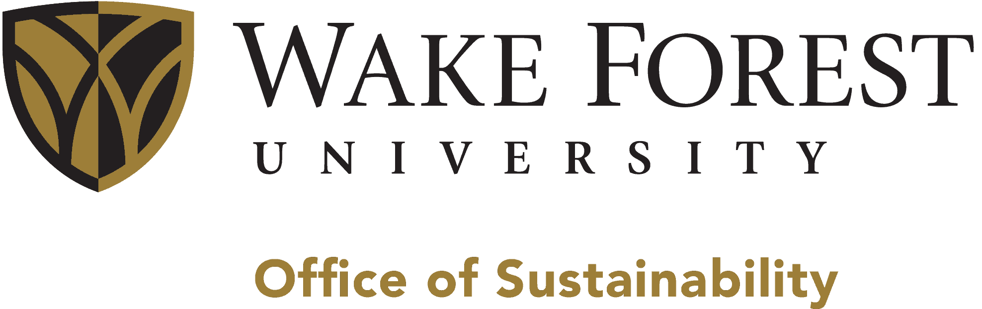 Sustainability at Wake Forest Logo